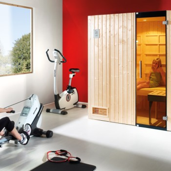infrarot kombi sauna uppsala spar set fs montagen. Black Bedroom Furniture Sets. Home Design Ideas