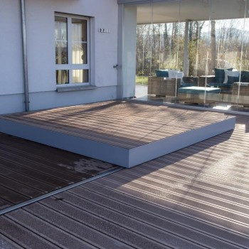 Pool in Terrasse eingelassen 2
